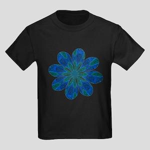 Flower Eager Kids Dark T-Shirt