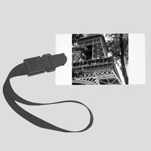 bw eiffel 12 Large Luggage Tag