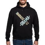 Twisted Obama 12 Black Hoodie