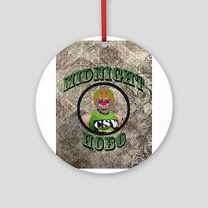 Midnight Hobo Ornament (Round)