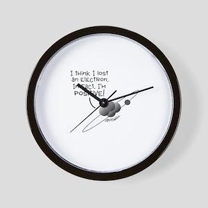 I'm Positive Wall Clock