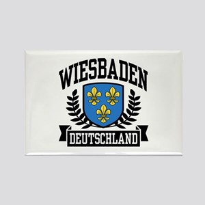 Wiesbaden Deutschland Rectangle Magnet