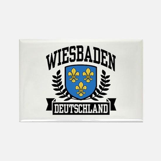 Wiesbaden Deutschland Rectangle Magnet