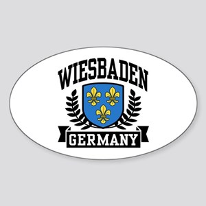 Wiesbaden Germany Sticker (Oval)