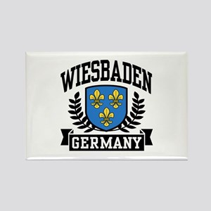 Wiesbaden Germany Rectangle Magnet