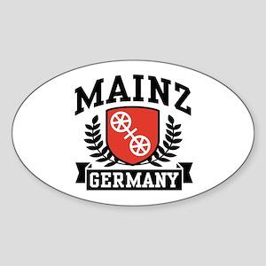 Mainz Germany Sticker (Oval)