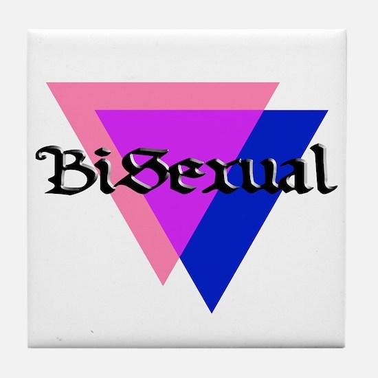 """Medieval """"BiSexual"""" Tile Coaster"""