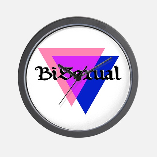 "Medieval ""BiSexual"" Wall Clock"