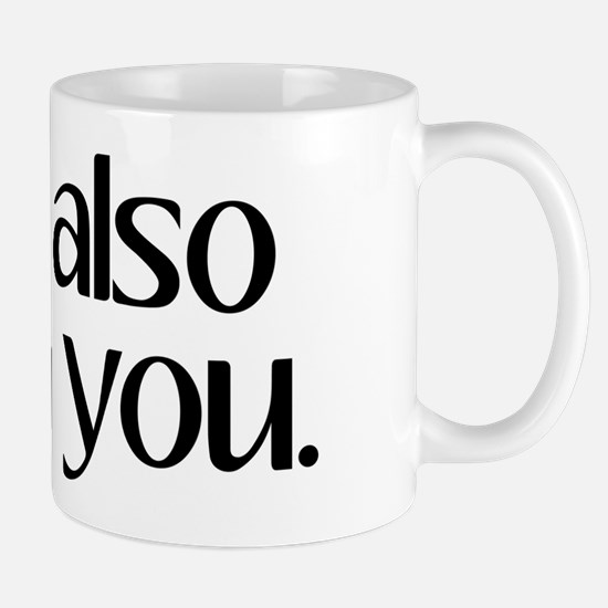 And Also With You Mug