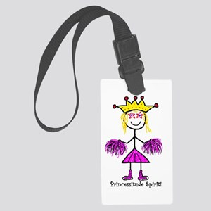 Princessitude Spirit! Large Luggage Tag