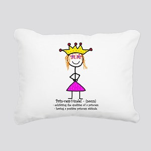 Princessitude! Definition Rectangular Canvas Pillo