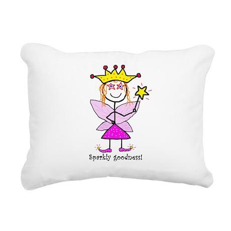 Sparkly Goodness! Rectangular Canvas Pillow
