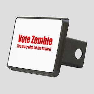 Vote Zombie 2 (mid) Rectangular Hitch Cover