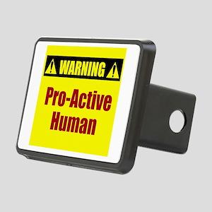 Pro-Active Human Rectangular Hitch Cover