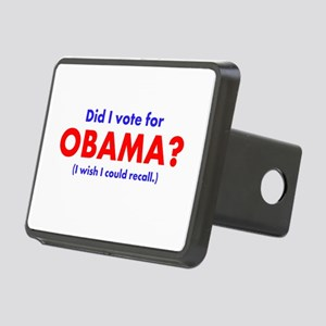 Did I vote Obama? Rectangular Hitch Cover