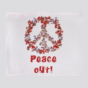 Attraction PeaceOut V Throw Blanket