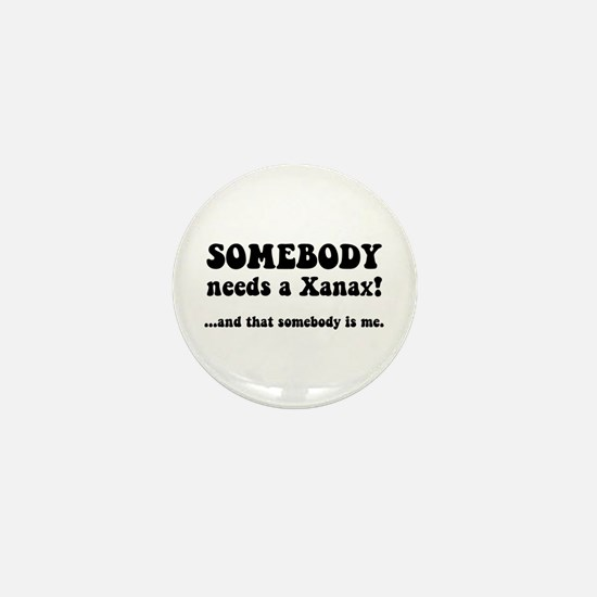 Xanax Mini Button