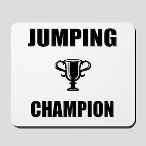 jumping champ Mousepad