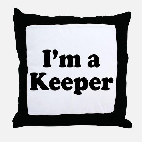 Keeper: Throw Pillow