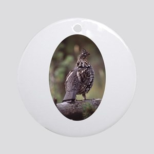 grouse Ornament (Round)
