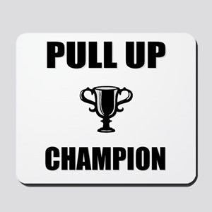 pull up champ Mousepad