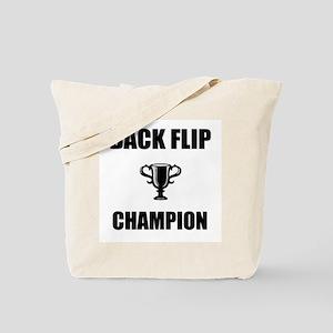 back flip champ Tote Bag