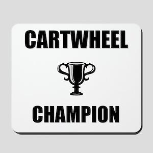 cartwheel champ Mousepad