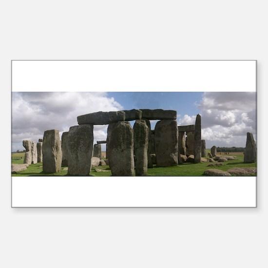 Panoramic Stonehenge Sticker (Rectangle)