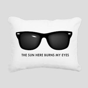 The Sun Here Burns My Eyes Rectangular Canvas Pill