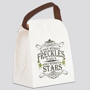 A Face Without Freckles Canvas Lunch Bag