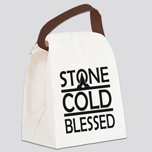 Stone Cold Blessed Canvas Lunch Bag