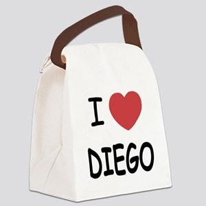 I heart DIEGO Canvas Lunch Bag