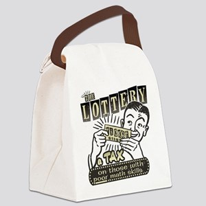 lottery-darks Canvas Lunch Bag