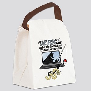 worm-lights Canvas Lunch Bag