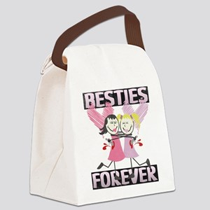 BESTIES-DARKS Canvas Lunch Bag