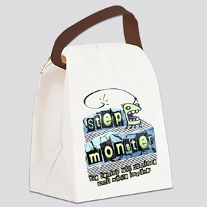 Step Monster Canvas Lunch Bag