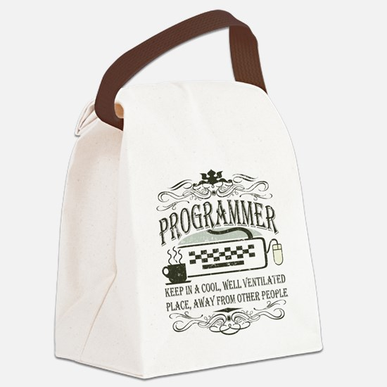 4-programmer-whites.png Canvas Lunch Bag