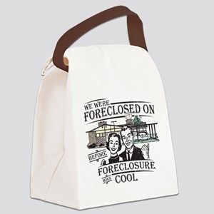 foreclosure-darks Canvas Lunch Bag