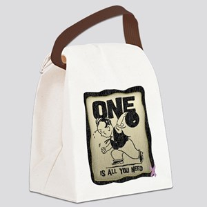 All You Need (Bowling) Canvas Lunch Bag