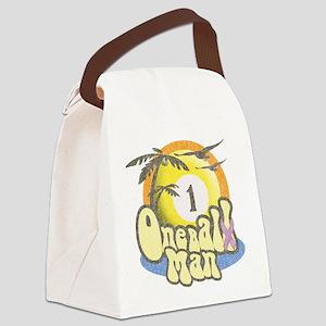 One Balll Man Darks Canvas Lunch Bag