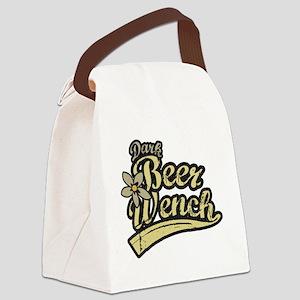 Dark Beer Wench Canvas Lunch Bag