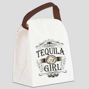 Tequila Girl Buckle Canvas Lunch Bag
