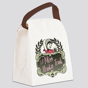 honky-tonk-lights Canvas Lunch Bag