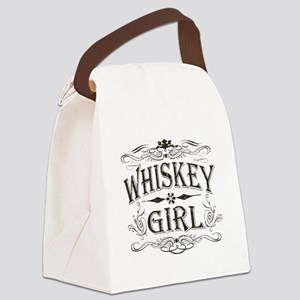 girl-whites Canvas Lunch Bag