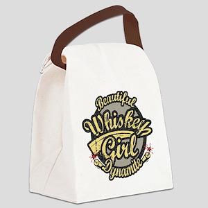 Beautiful Dynamite Canvas Lunch Bag