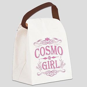 cosmo-dark Canvas Lunch Bag