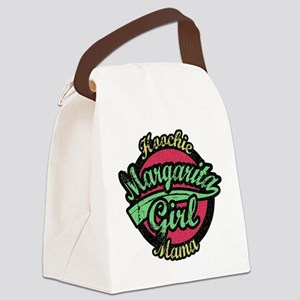 Margarita Girl Canvas Lunch Bag