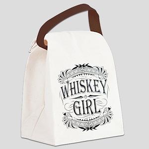 girl-darks Canvas Lunch Bag