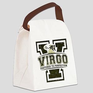 2-virgo-dark Canvas Lunch Bag