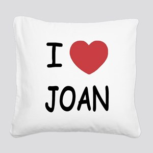 JOAN Square Canvas Pillow